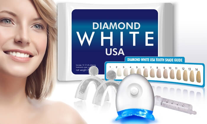 glam white teeth whitening kit