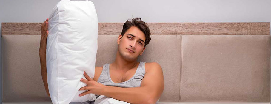 Regular pillows can also lead to stiffness in the morning