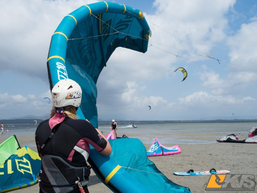 When you're first learning how to kiteboard, it's important that your gear matches your skill level.