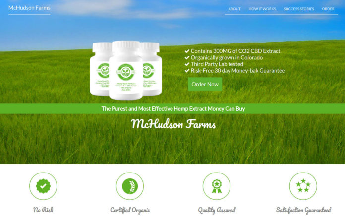 McHudson Farms CBD Extract