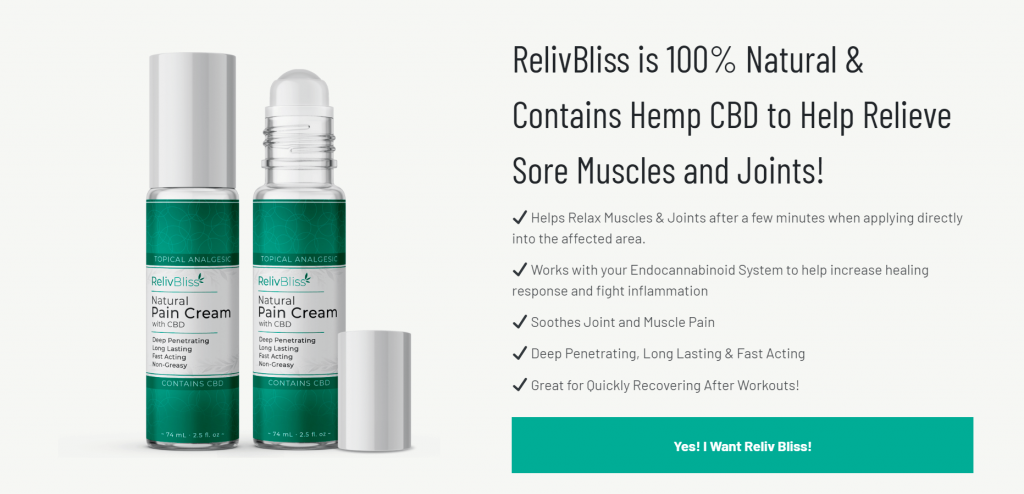 Reliv Bliss Review
